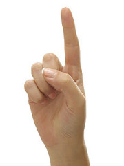 finger 1 DONE