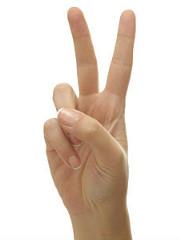 finger 2 DONE